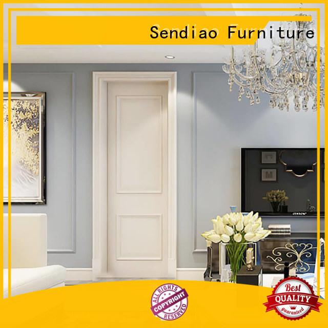 Sendiao Furniture Simplicity solid interior doors design Bedroom