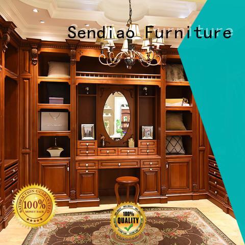 Sendiao Furniture High-quality bespoke wardrobe company three-star hotel