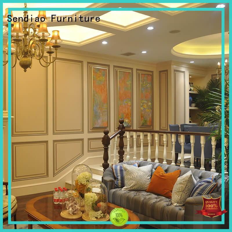 modular modern wood stairs The latest generation Three-star Hotel Sendiao Furniture