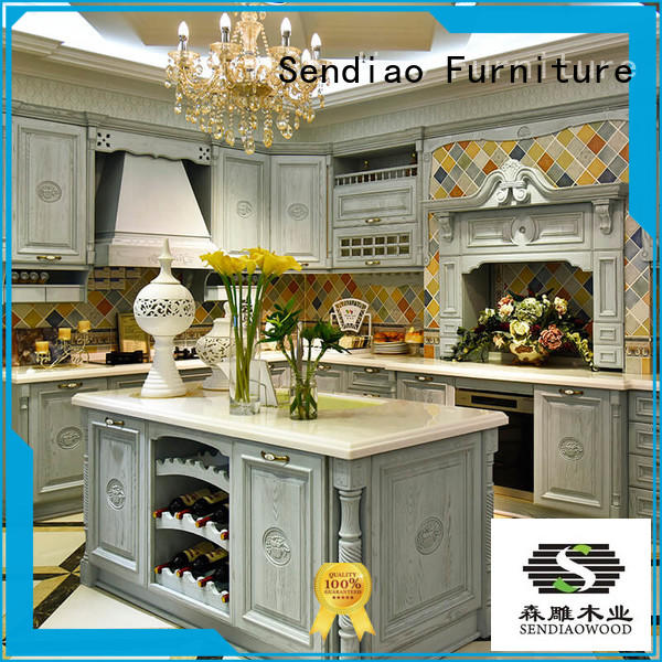 low price wood kitchen cabinets American style Bedroom