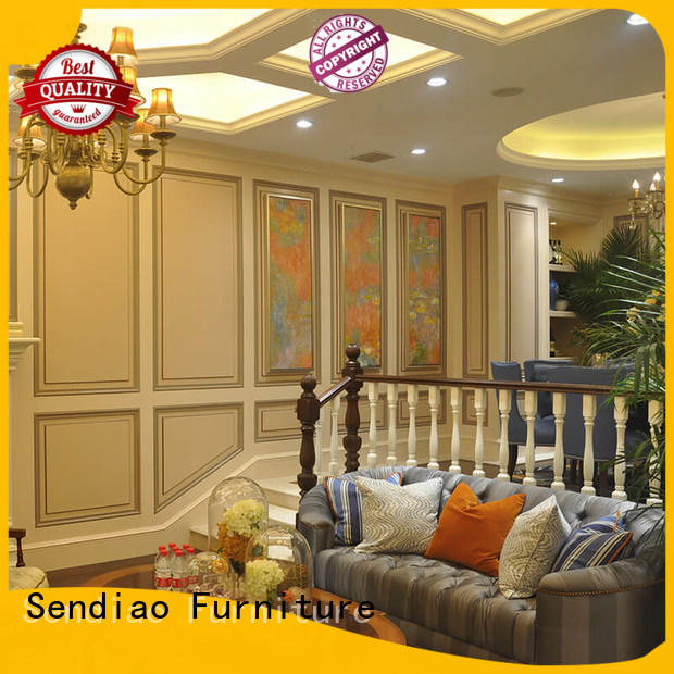 Sendiao Furniture low price wooden staircases elegance Bedroom