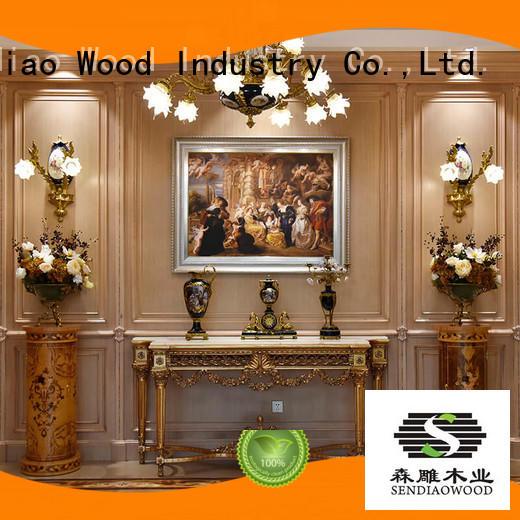 wall internal wood panelling low price Fivestar Hotel Sendiao Furniture