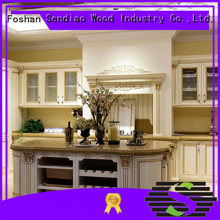 classical custom kitchen cabinet manufacturers low price Four Star Hotel