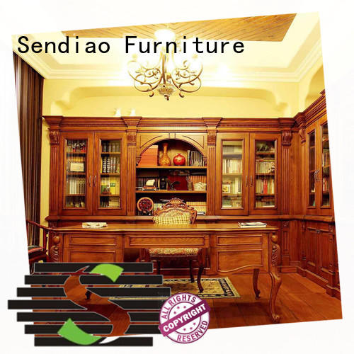 Sendiao Furniture three bookshelf cabinet Promotion Bedroom