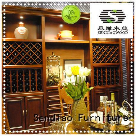 The latest generation wine rack cabinet Promotion Three-star Hotel