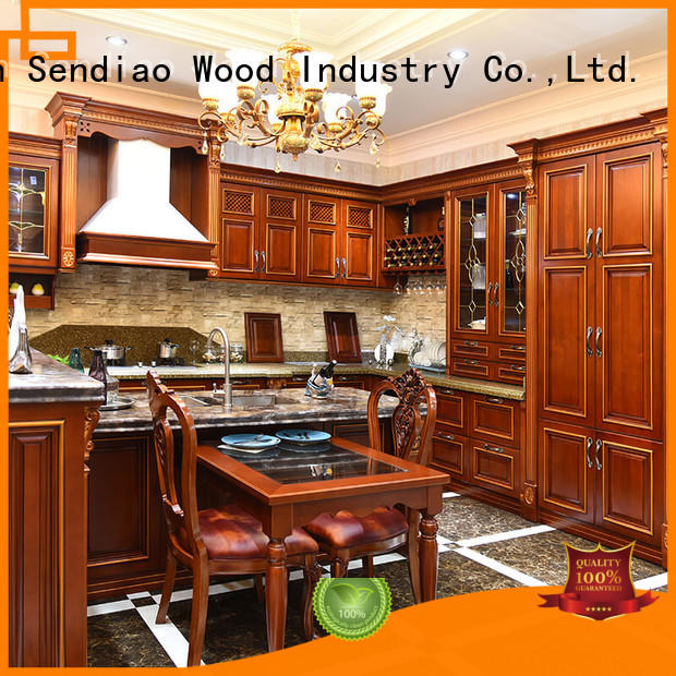 bespoke kitchen cabinet artificial Bedroom Sendiao Furniture