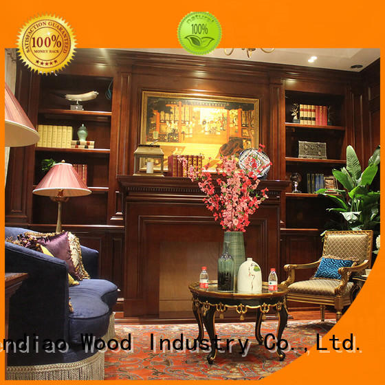 Sendiao Furniture wall decorative wooden cabinet for business exhibition hall