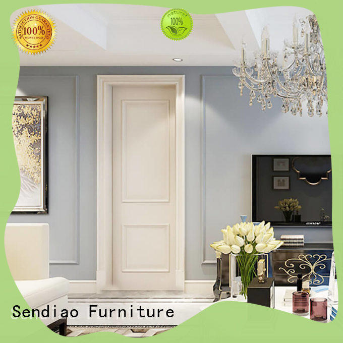 Latest solid wood interior doors design factory chateau
