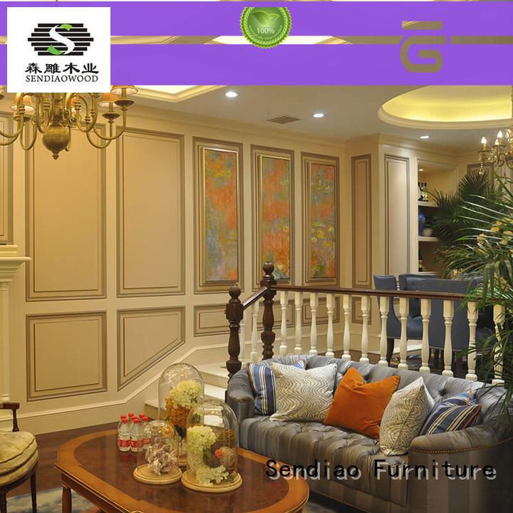 Custom stairs wood floor stairs modular Sendiao Furniture