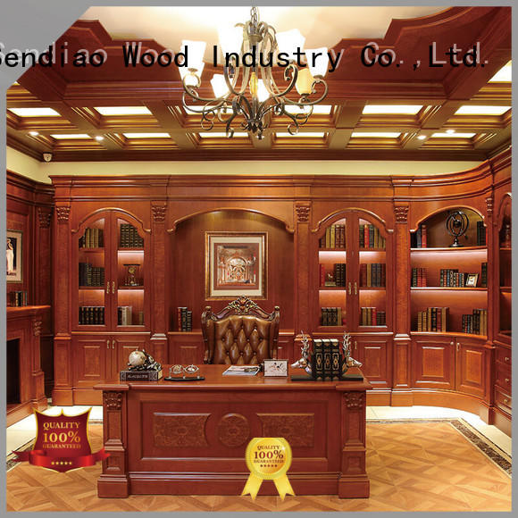 classical bespoke bookcases classical Three-star Hotel