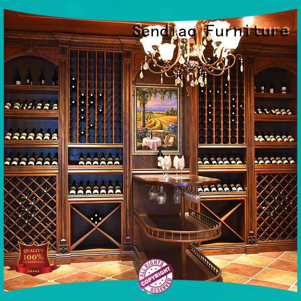 wine rack cabinet cabinet A living room Sendiao Furniture