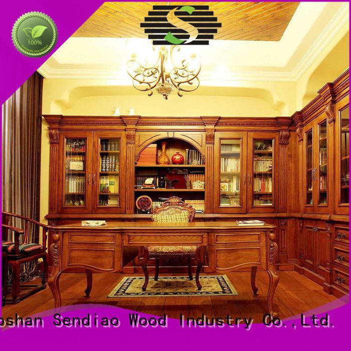 Custom bespoke bookshelves furniture Supply four-star hotel
