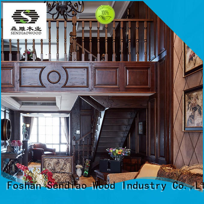 sds02 bespoke wooden staircases classical Exhibition hall