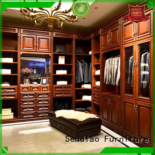 cabinet bespoke wardrobe design bedroom Three-star Hotel Sendiao Furniture