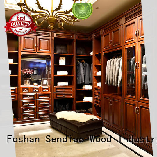 Sendiao Furniture The latest generation wooden clothes closet New products Bedroom