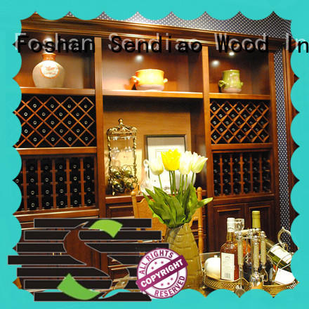 New products wine rack cabinet antique company four-star hotel