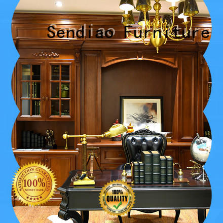 Sendiao Furniture low price solid wood bookcases factory bedroom