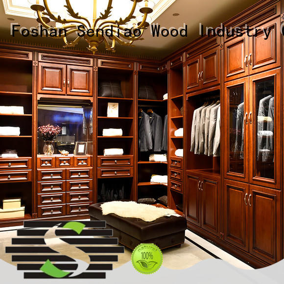 Sendiao Furniture joinery wooden clothes wardrobe Suppliers bedroom