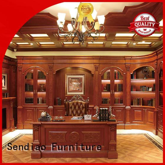 combination advanced OEM custom living room cabinets Sendiao Furniture