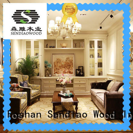 Promotion decorative cabinets for living room Simplicity Bedroom Sendiao Furniture