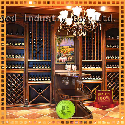 Sendiao Furniture red wood wine cabinet Supply exhibition hall