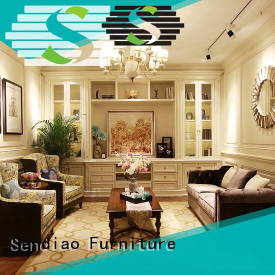 Sendiao Furniture New decorative cabinet factory chateau