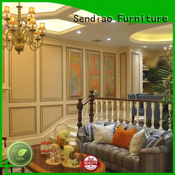 Sendiao Furniture Custom hardwood stairs manufacturers study