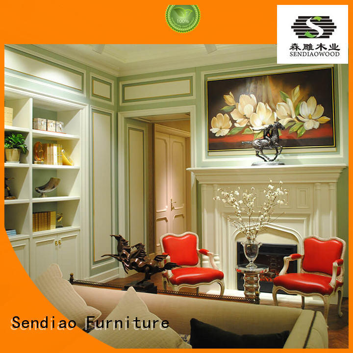 Sendiao Furniture fixing decorative molding panels low price A living room