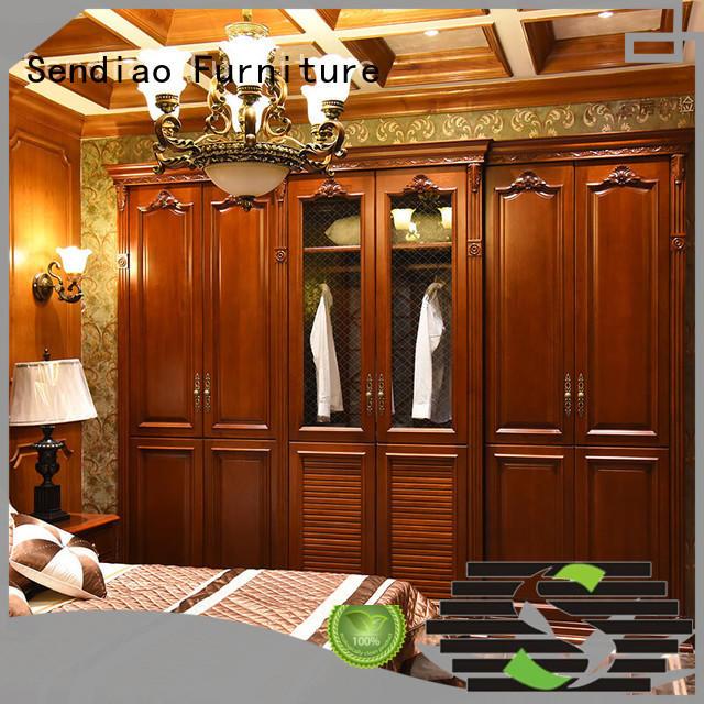joinery wood wardrobe cabinet American style Three-star Hotel Sendiao Furniture