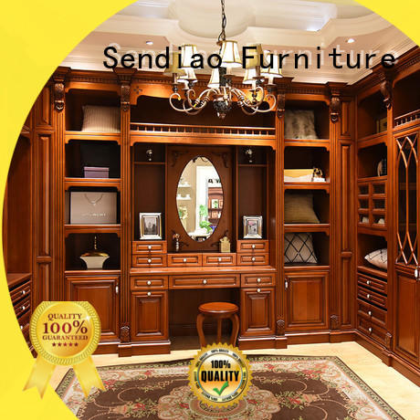 Sendiao Furniture joinery wood armoire wardrobe factory four-star hotel