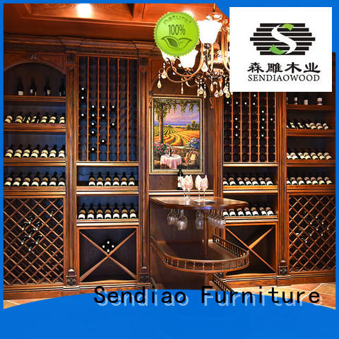 white wine cabinet wine red Sendiao Furniture Brand