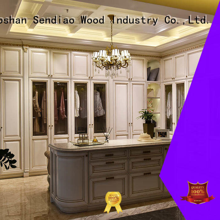 elegance wooden clothes closet elegance Four Star Hotel Sendiao Furniture