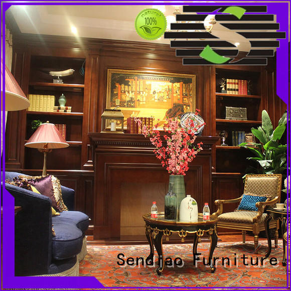 Sendiao Furniture sdc01 tall decorative storage cabinets classical Study