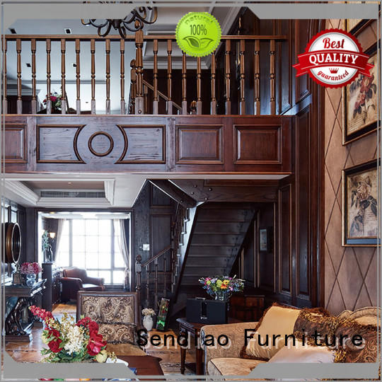 Sendiao Furniture New products wooden staircases accessories Fivestar Hotel