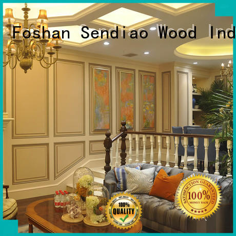 Sendiao Furniture accessories hardwood stairs company fivestar hotel