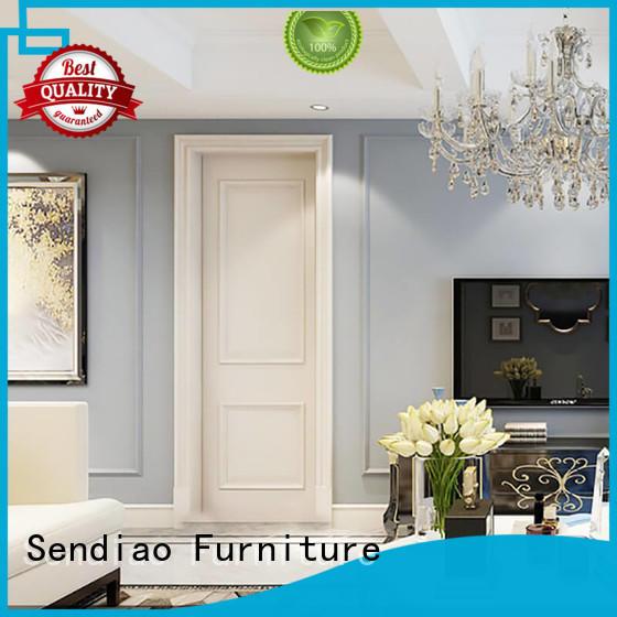 room interior wood doors elegance Study Sendiao Furniture