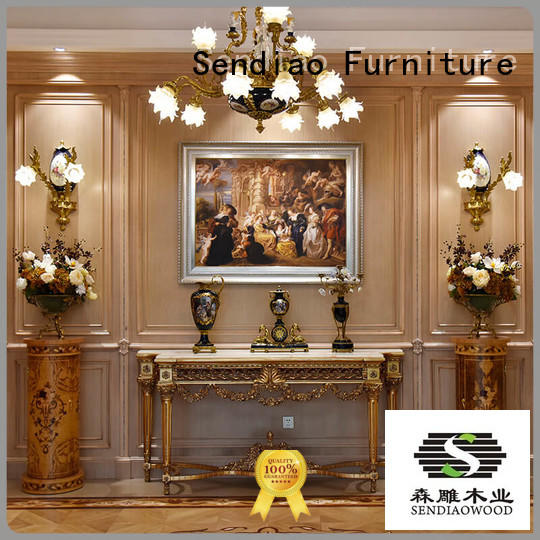 Sendiao Furniture low price decorative wood panels for walls Simplicity Four Star Hotel