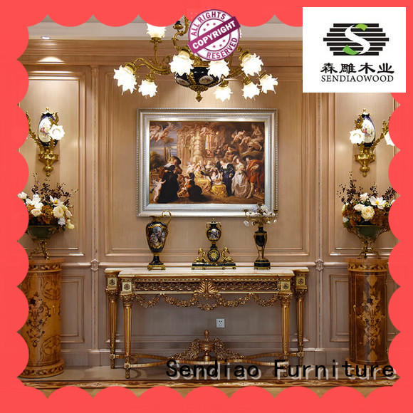 Sendiao Furniture American style decorative molding panels wood Four Star Hotel