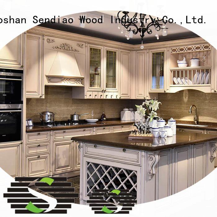 Sendiao Furniture design custom kitchen cabinets Suppliers study