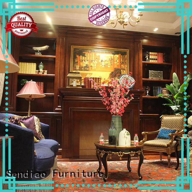 Sendiao Furniture wood decorative storage cabinets elegance Fivestar Hotel