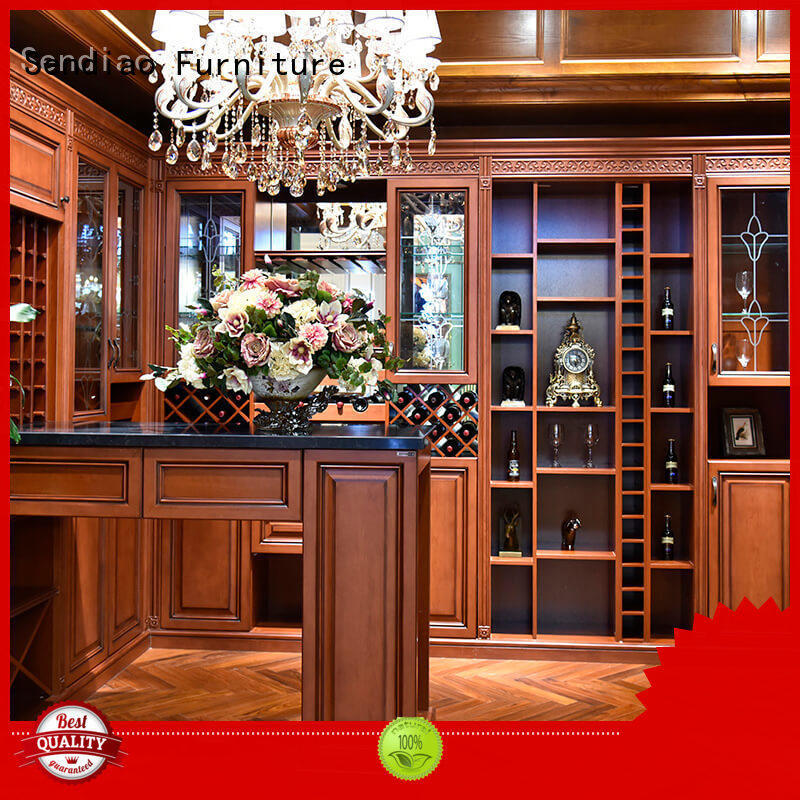 wooden wine storage cabinets sdwi03 Chateau Sendiao Furniture