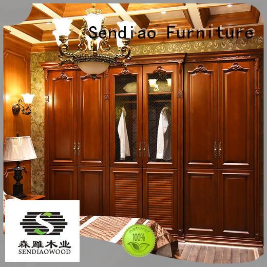 furniture wood wardrobe cabinet Simplicity Chateau