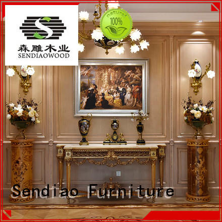 club furniture oak decorative bespoke wall panelling Sendiao Furniture