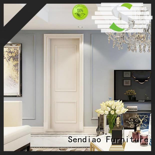 Sendiao Furniture Top solid wood interior doors Supply three-star hotel