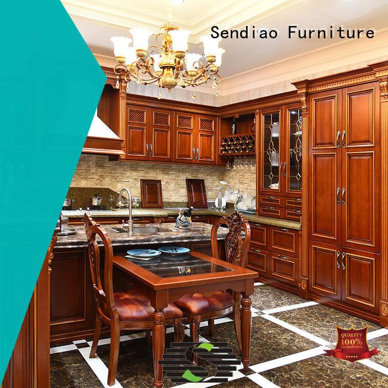 Sendiao Furniture lacquer contemporary kitchen cabinets suppliers exhibition hall