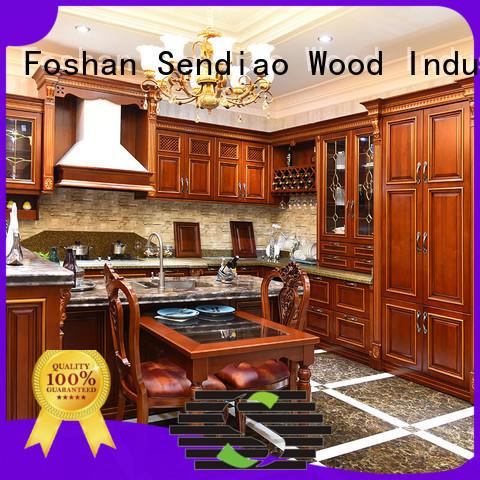 Top modular kitchen cabinets quartz factory four-star hotel
