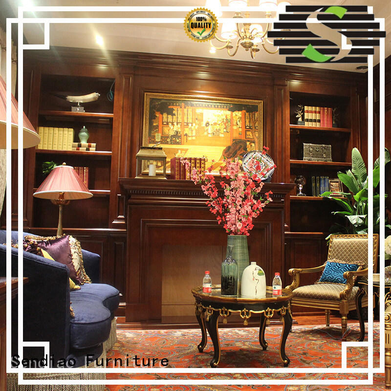 classical decorative wooden cabinet combination supply three-star hotel