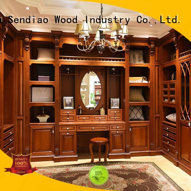 Sendiao Furniture joinery wooden wardrobe company bedroom