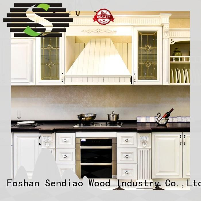 Best custom wood kitchen cabinets wood company three-star hotel