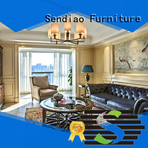 Sendiao Furniture New products wood panelling for walls interior sdd03 Study